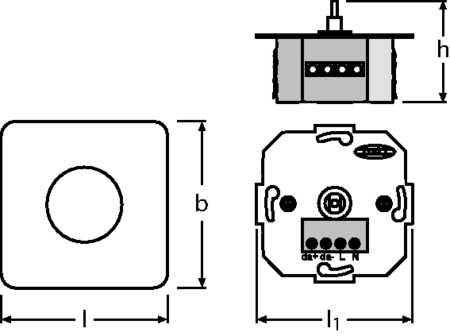 DALI MCU /230 DIM FS1              OSRAM